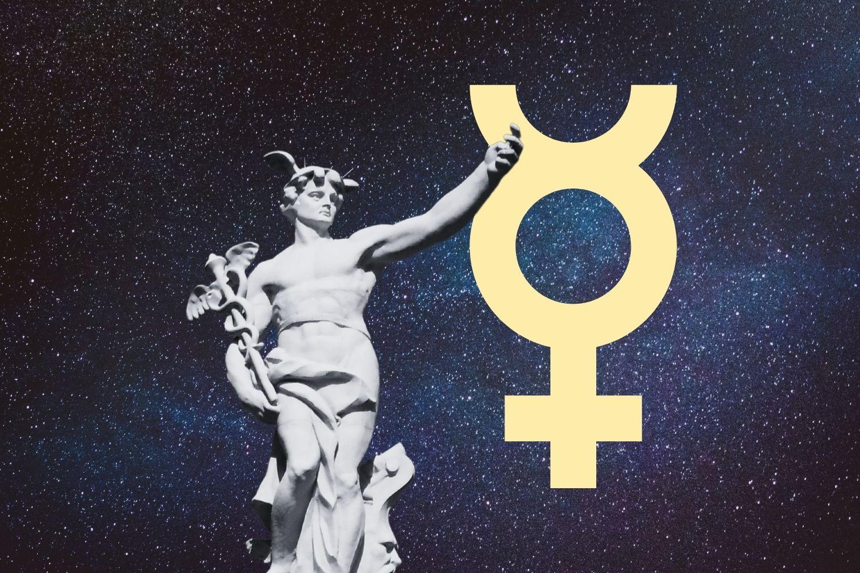 占星盤上的水星