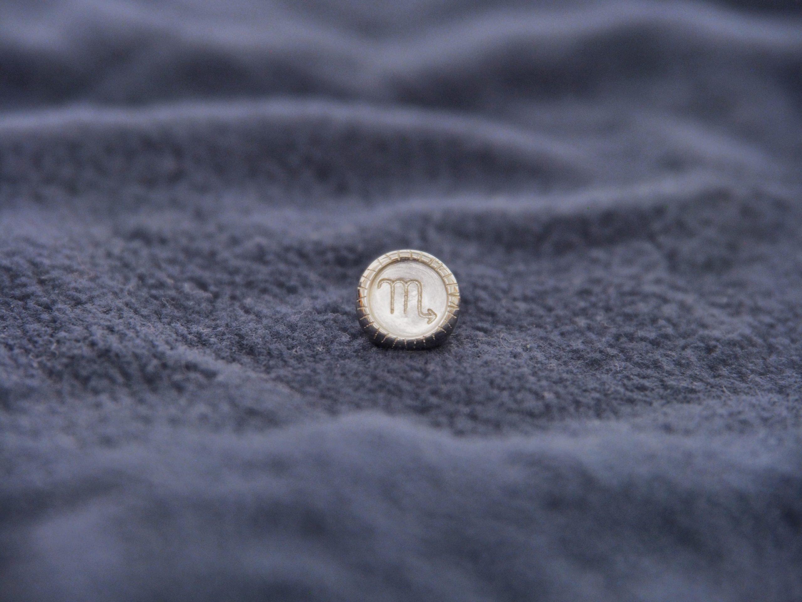天蠍座純銀扣配彈性手環 Image
