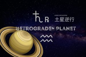 Read more about the article 【世俗占星.流年運程】2021年土星逆行於水瓶座
