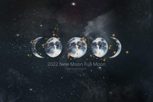 Read more about the article 【2022 年新月。滿月。日食。月食】下半年香港月相時間表